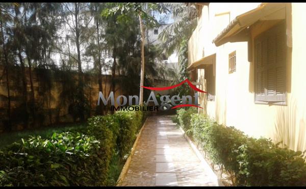 A louer villa aux Almadies à Dakar