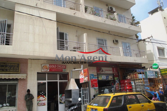 Appartement en location dakar au plateau agence for Agence immobiliere dakar