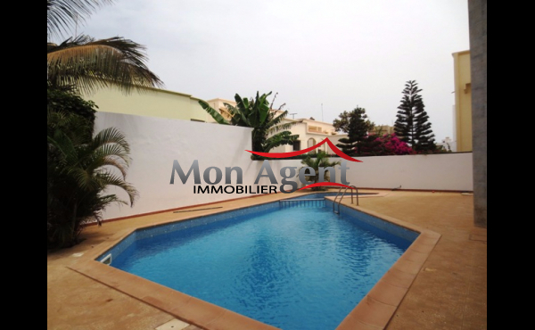 Location appartement piscine Dakar Almadies
