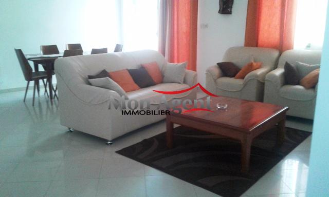 Appartement meublé à louer Mermoz Dakar - Agence immobilière au Sénégal