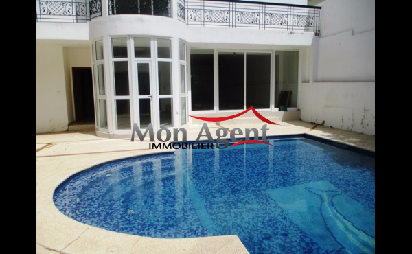 Villa piscine en location aux Almadies à Dakar