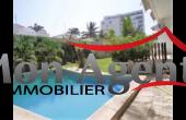 VL279, Location d'une villa avec piscine aux Almadies à Dakar