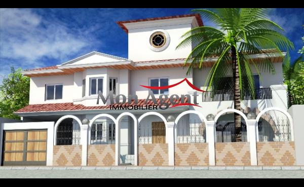 Villa vendre dakar aux almadies agence immobili re au for Agence immobiliere dakar