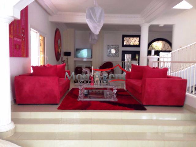 Location villa meublée avec piscine aux Almadies Dakar - Agence ...