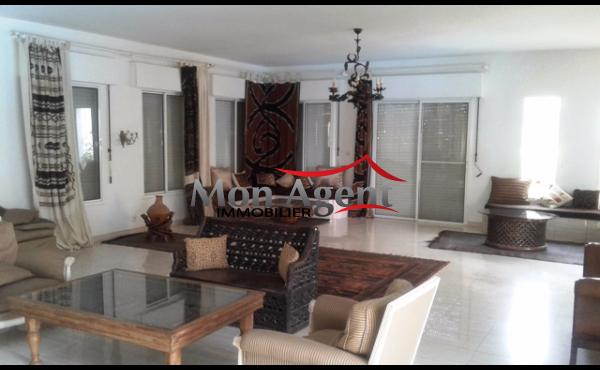 Location d'une villa meublée à Ngor plage Dakar