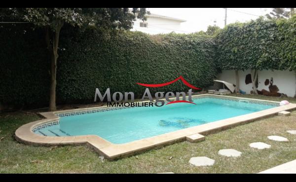 Villa avec piscine à louer Dakar aux Almadies