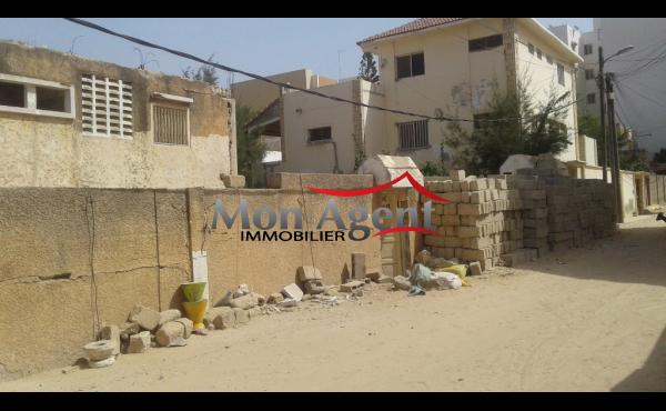 Terrain à vendre à Yoff Dakar