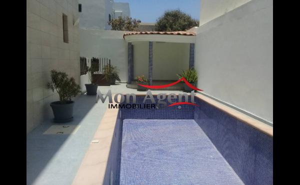 Villa piscine à louer