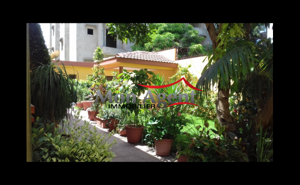 Villa jardin à louer Almadies