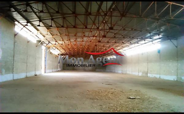 Hangar à louer Dakar Hann Bel air