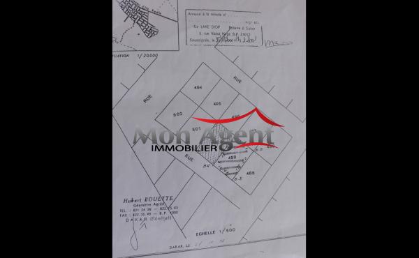 Terrain 150 m² à vendre Dakar Keur massar
