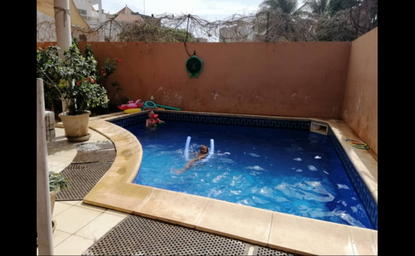 Maison de ville avec piscine ngor Dakar