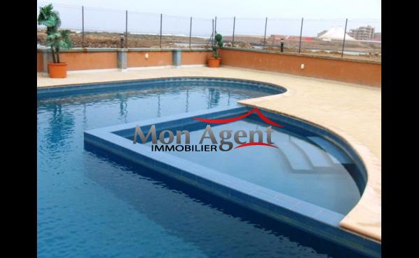 A louer Appartement F5 avec piscine Ngor Dakar