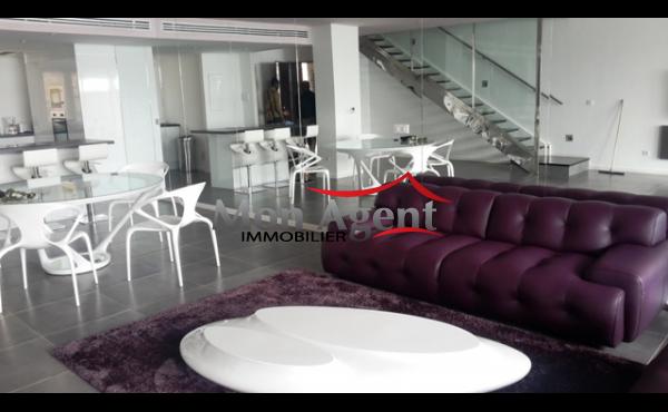 Dulplex meublé à louer Fenêtre Mermoz Dakar