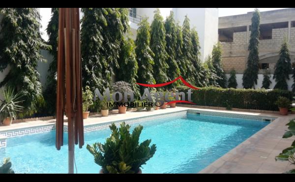 Appartement piscine à louer aux Almadies Dakar